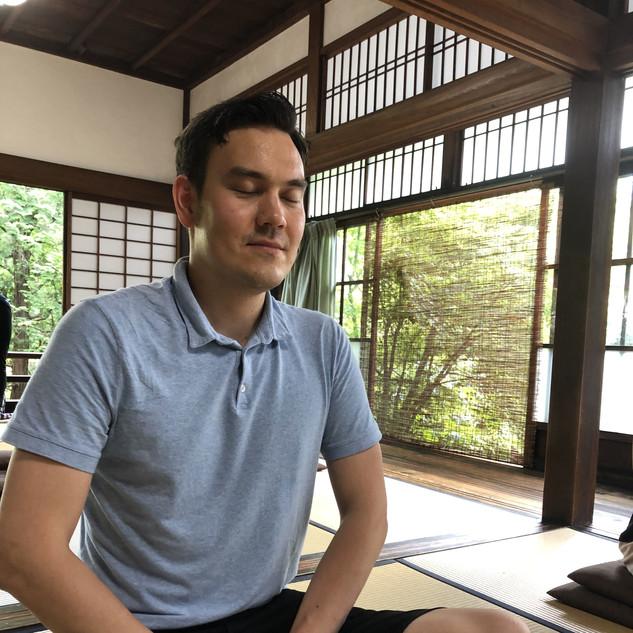 京都坐禅体験③