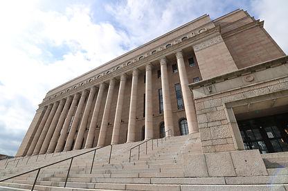 Eduskuntataloフィンランド国会議事堂