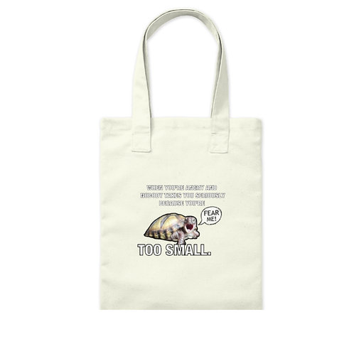 SMALL TURTLE PROBLEMS TOTE