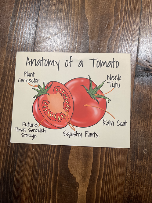 Anatomy of a Tomato