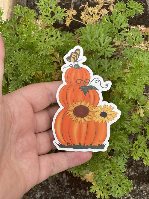 Triple Decker Pumpkins