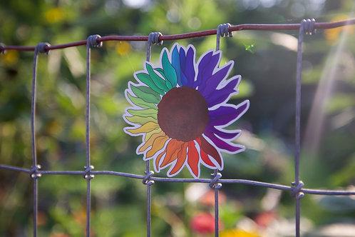 Rainbow Sunflower (M)