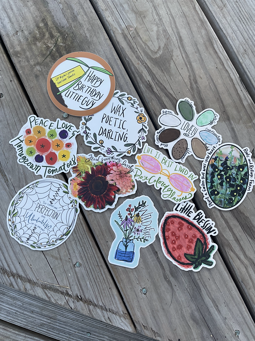Jessica's Sticker Pack