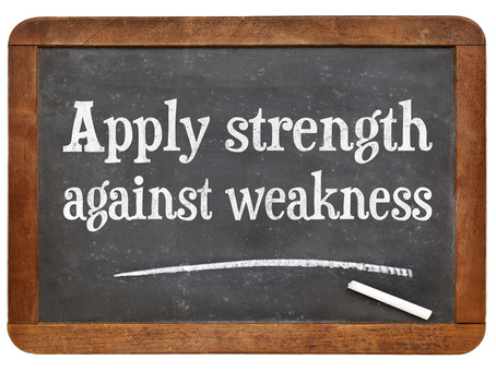 Calm strength, not vulnerability, is a leader's advantage.