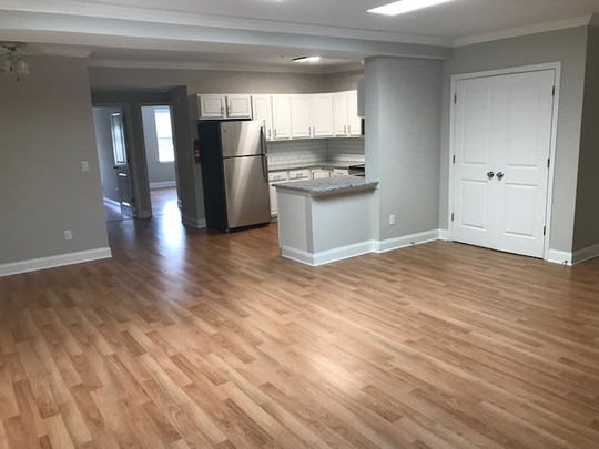 Unit 202B Kitchen Dining Area Living Roo