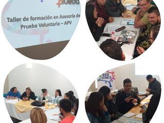 Taller de formación en asesoría de prueba voluntaria- APV
