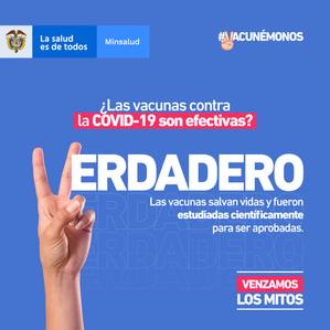 PERSONAS CON VIH YA ESTAN PRIORIZADAS PARA  VACUNARSE EN SU EPS