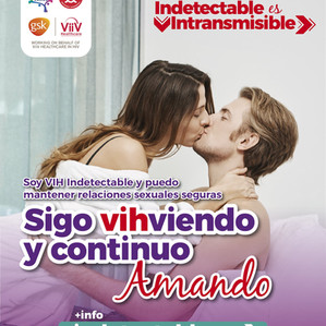 EL VIH INDETECTABLE ES INTRANSMISIBLE