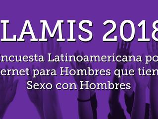 Encuesta Latinoamericana por Internet para Hombres que tienen Sexo con Hombres 2018
