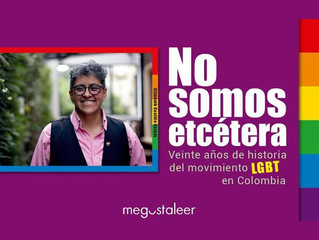 PERSONAJE -   Elizabeth Castillo y su libro No Somos etcétera