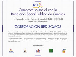 Compromiso Social con la Rendición Social Pública de Cuentas