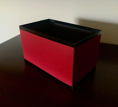 Red Box for Paper Balls & Rings