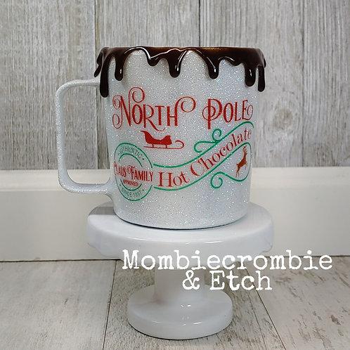North Pole hot chocolate mug