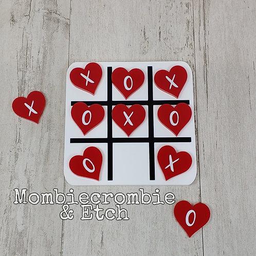 Acrylic Tic Tac Toe Board