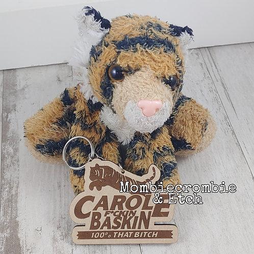 Carole F*ckin Baskin Keychain