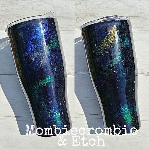 Glitter Galaxy Tumbler