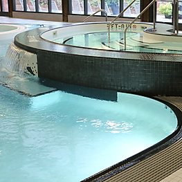 Greenridge Estates Lake Oswego Assisted Living Mountain Park Clubhouse Hot Tub