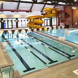 Greenridge Estates Lake Oswego Assisted Living Mountain Park Clubhouse Lap Pool and Slide