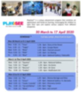 Singapore Easter school Holiday program
