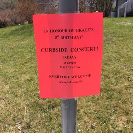 Outdoor Birthday Party Concert