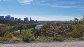 Amazing Calgary Vistas and Fall Colours