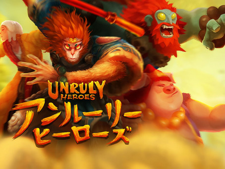 Unruly Heroes is now available in Japan! 🎎