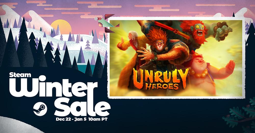 Steam Winter Sale Unruly Heroes