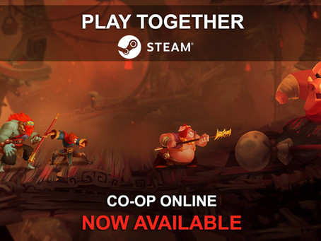 Come together, right now, on Steam! 🙌