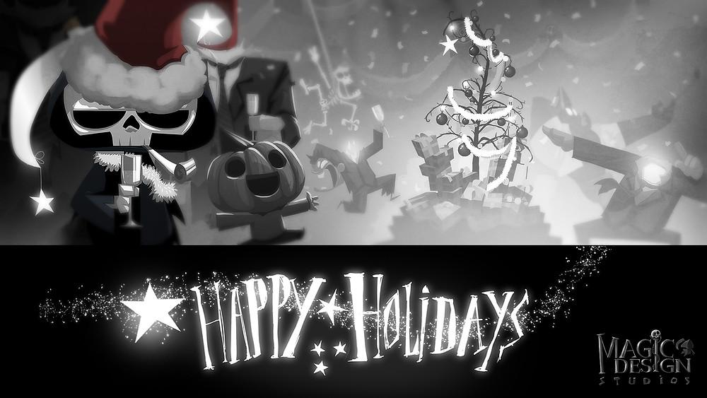 Happy Holidays from Magic Design Studios