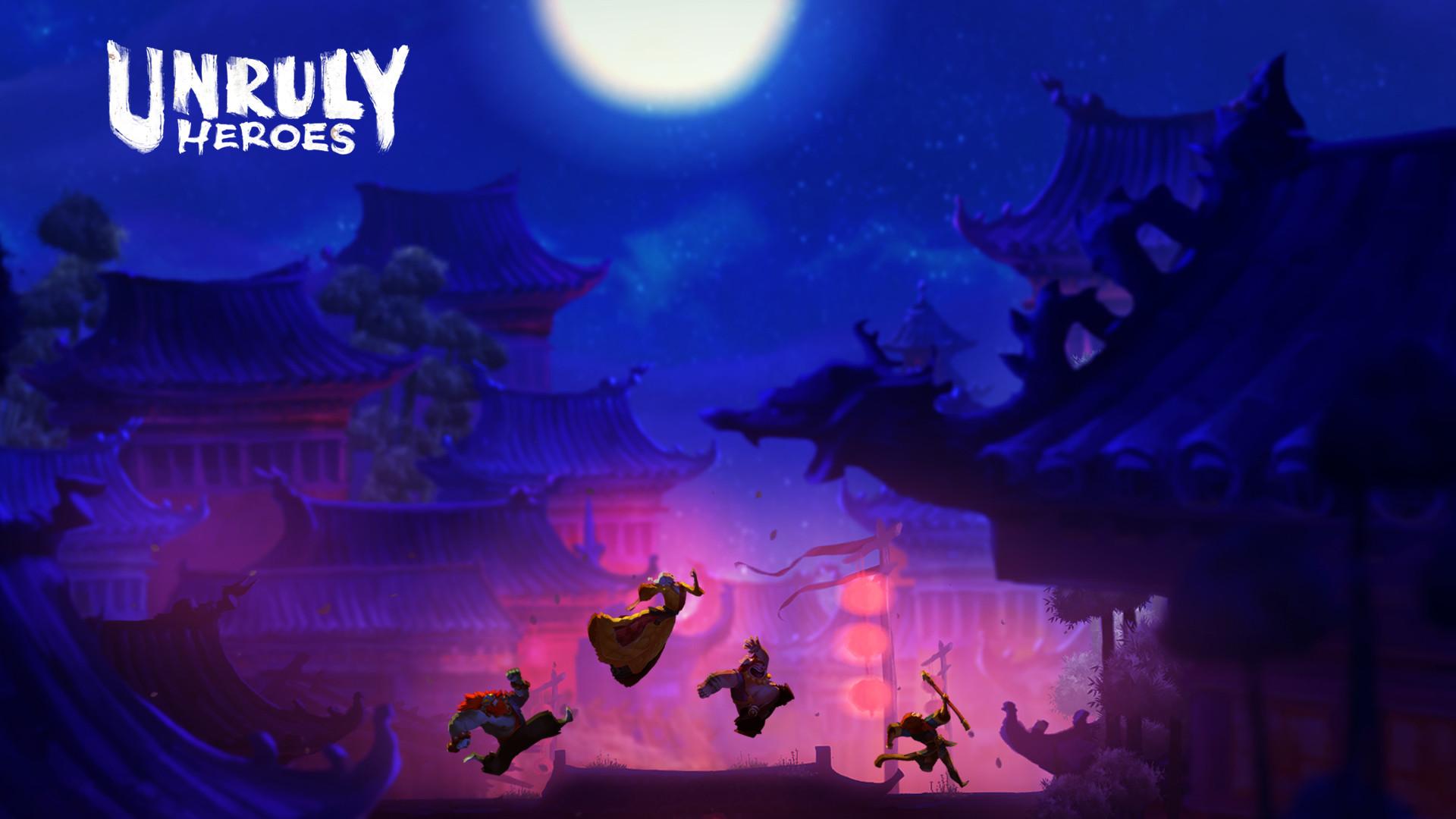 Unruly Heroes  Screenshot