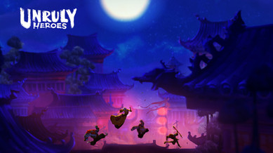 Unruly Heroes  Screenshot