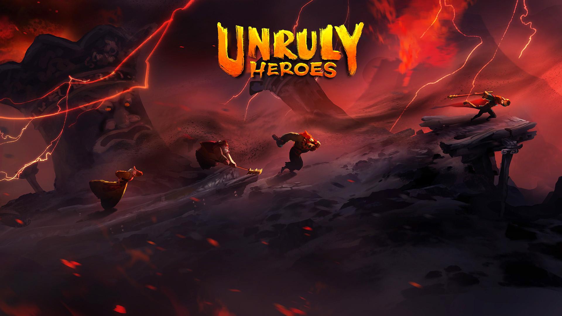 UnrulyHeroes_FlamingMountain_Screenshot