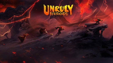 UnrulyHeroes_FlamingMountain_Screenshot