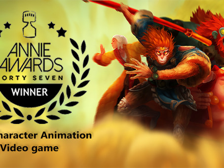 Annie Awards Winner🏆