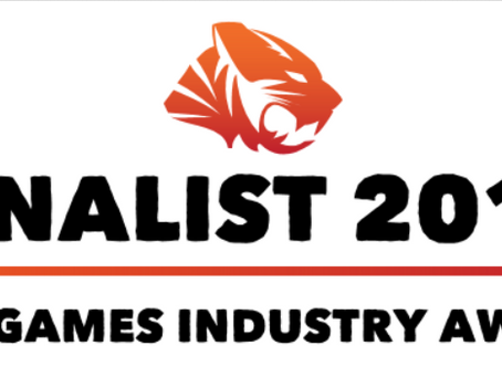 Finalist for TIGA Game Industry Awards! 🥳