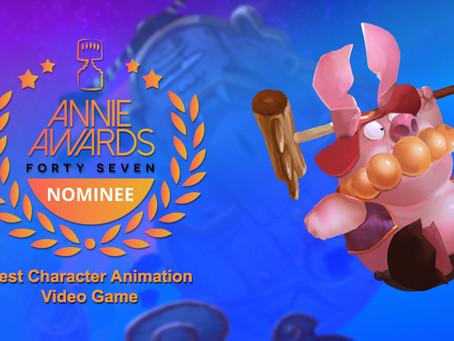 Annie Awards Nominee!!