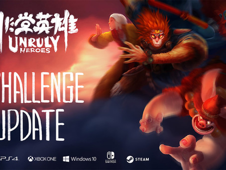 The Challenge Update is AVAILABLE NOW!