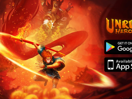 Unruly Heroes is ready to kung-fu-them-all on your mobile phone! 📱