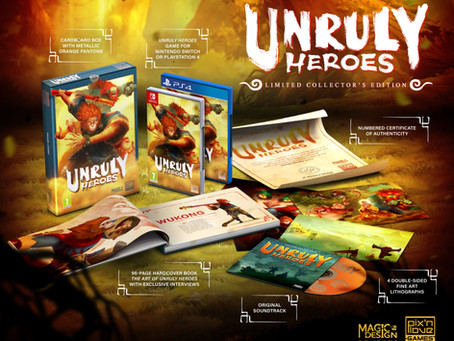 Unruly Heroes Limited Edition 🙌