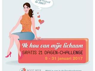 IK HOU VAN MIJN LICHAAM: GRATIS 21 DAGEN CHALLENGE