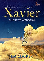 Cover of Xavier 2 in the fantasy series by EM Cooper