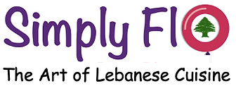SimplyFlo Logo with Cedartree in Middle