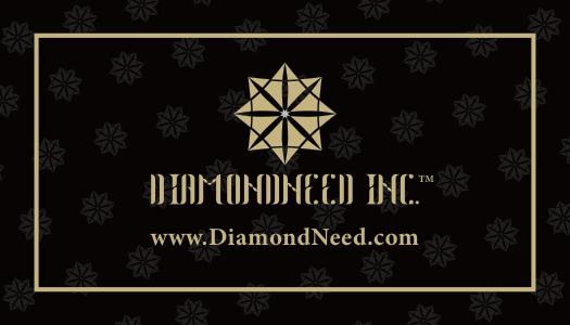 Diamondneed Business Card Before