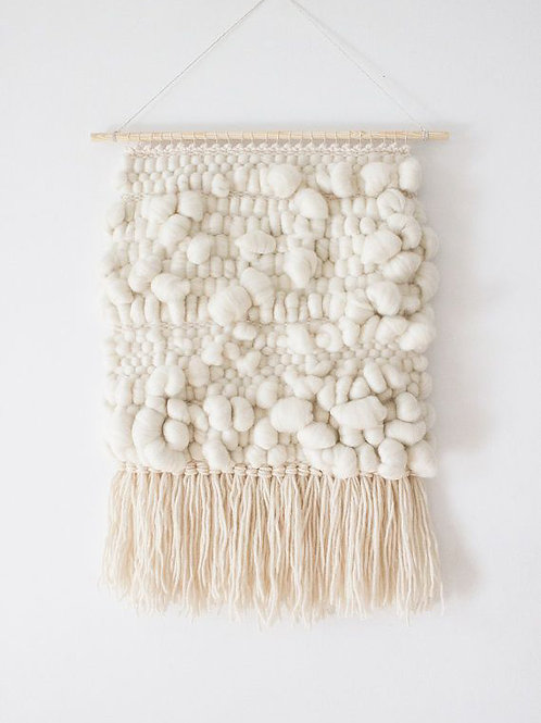 White Clouds Wall Tapestry