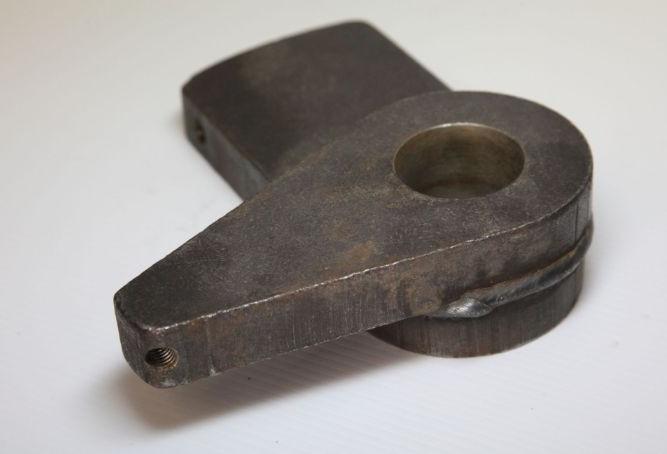 Post-weld machining