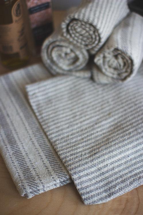 Grey cotton napkins