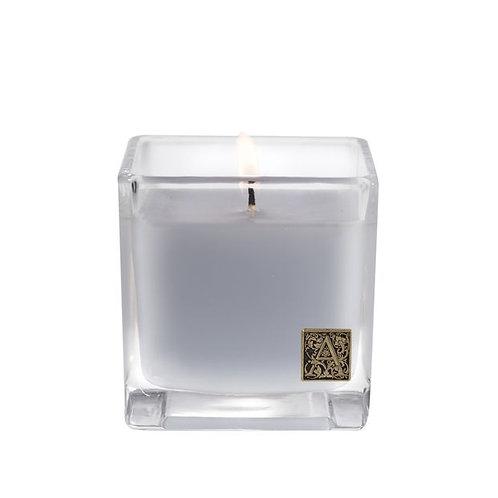 Viola Driftwood Cube Candle