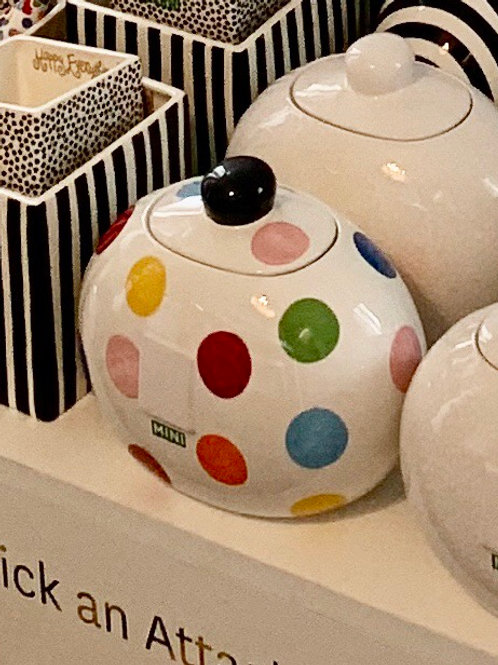 Bright Dot Cookie Jar mini