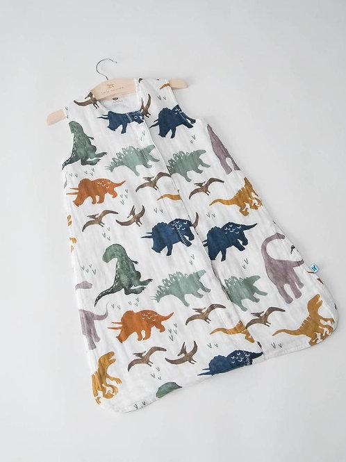 Cotton Muslin Sleep Bag - Dino Friends