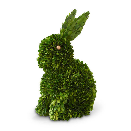 Preserved Boxwood Sitting Rabbit